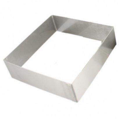 พิมพ์เค้กสี่เหลี่ยมแบบไม่มีก้น 9 นิ้ว หนา-5 ปอนด์-N