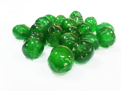 Glaced Green cherries 1 kg