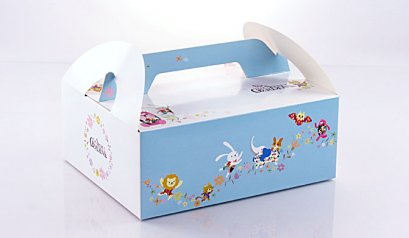 2439 Cake Box:The Secret Garden 18.5x22.5x9(H) cm