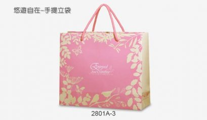 2801A-3 Paper Bag: Enjoyed and Carefree 26*9*22 cm@10