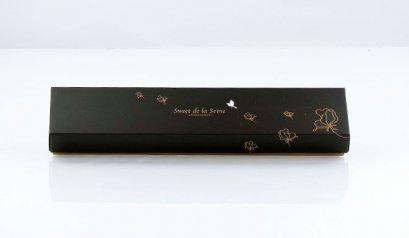 6405 กล่องลาย Le Jardin Des Sens ดำ 30.5x5.4x3.5(H) cm