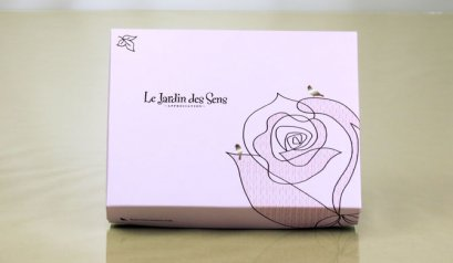 71201B Purple Chocolate Box: 12 holes