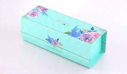 F201A กล่อง ฟ้า ลาย Love Comes Softly 20.3x7.9x7.8 cm