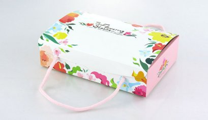 M0611A กล่องลาย Flowering Season 22x15.5x5.5 cm