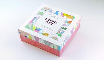 M092110  กล่องลาย Infinite Wish 21.5x21.5x9(H) cm