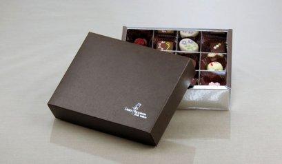 Y-025A1 กล่องน้ำตาล 18.5x14.5x5cm@5pcs