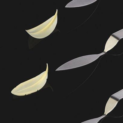 CH8 Chocolate Decoration Tool: Plume (Medium) Pavoni
