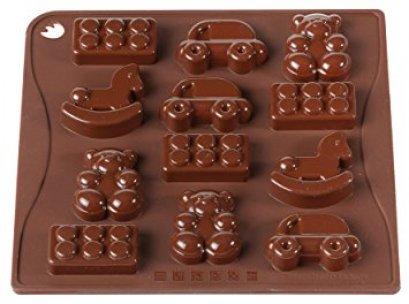 CHOCO07 Pavoni BROWN CHOCO PRALINES: TOYS