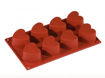 FR025 Pavoni MULTI-PORTION 8 CAV: HEART