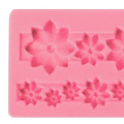 ST07 Pavoni SILICONE MOULD: FLOWERS