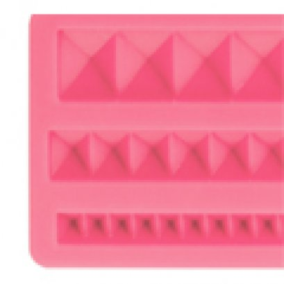 ST08 Pavoni SILICONE MOULD: PYRAMIDS