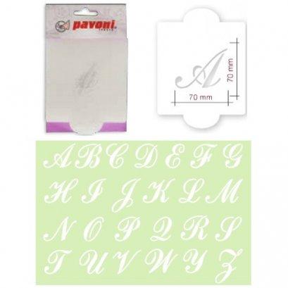 STENCIL07 Pavoni CAPITAL LETTER