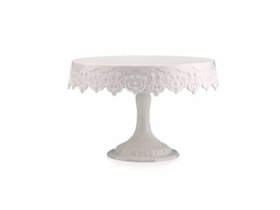 MESSAGEBNS : Pavoni CAKE STAND 230 MM WHITE