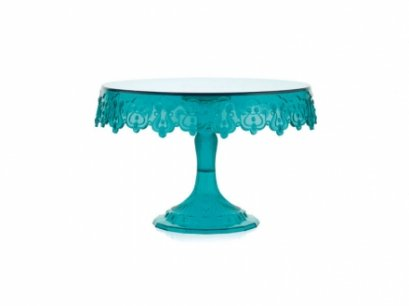 MESSAGETDGS : Pavoni CAKE STAND 230 MM GREEN