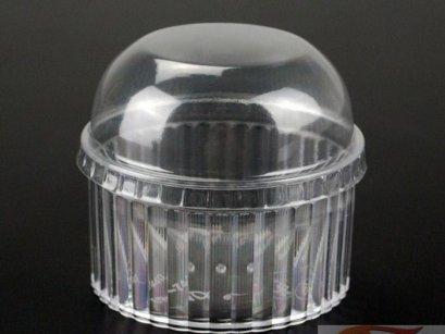 GD-8840-Clear ถ้วยพลาสติก ทรงถ้วยกลม ใส(ไม่รวมฝา)@20