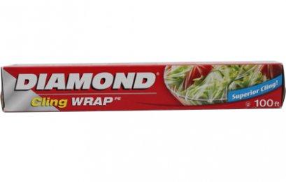 DIAMOND PE CLING WRAP 100 FT