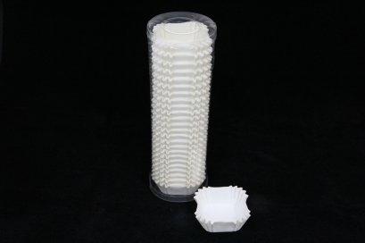 CN0450 White(Square) ฐาน 45x45 mm สูง 25 mm