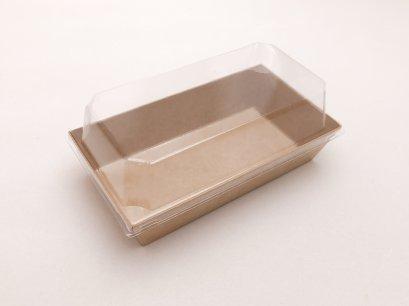 NB190085-Kraft กล่องกระดาษ พร้อมฝา 190x85x35(H) cm@50