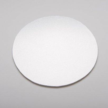 แผ่นรองเค้กกลมสีเงิน 20 cm-1 ปอนด์@5