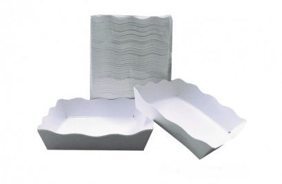 """2202 ถาดกระดาษ สีขาว 4x6"""" (DW301-2)@100pcs"""