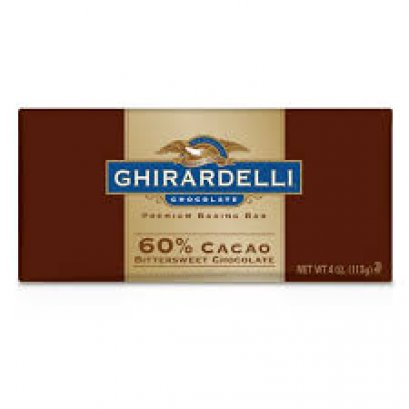 60% Cacao Bittersweet Chocolate Baking Bar 113 g