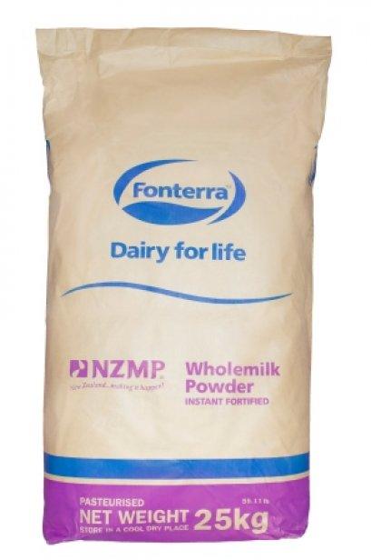 หัวนมผง(Whole Milk) 25 kg
