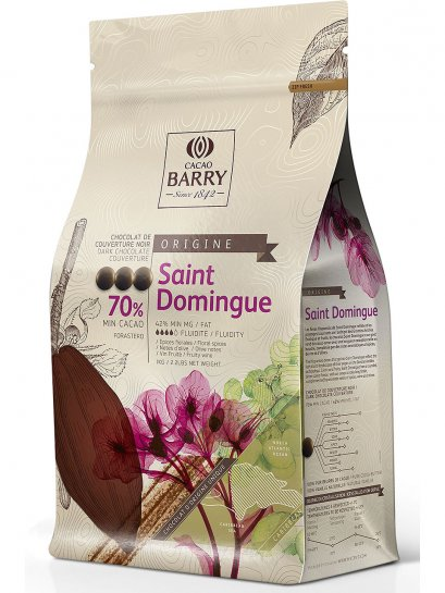 70% Dark Cocao Barry (St. Domingue)(Pistol) 1 Kg