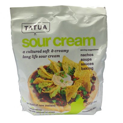 Tatua Sour Cream 200 g