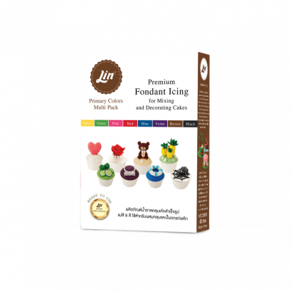 Lin Fondant 8 Colors