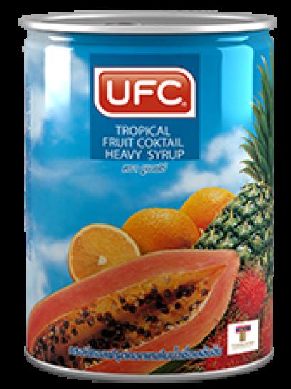 ทรอปิคอลฟรุตคอกเทลในน้ำเชื่อม UFC 20 OZ