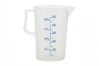 SN4702 Sanneng PP PLASTIC MEASURING CUP (500CC)