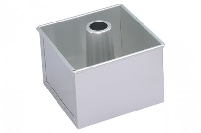SN6836 Sanneng Square Pan-Removable Bottom (Anodized) DIA: 120*120*120 mm