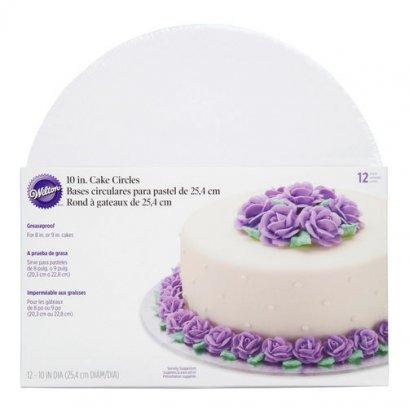 2104-102 10 IN CAKE CIRCLE 12PK