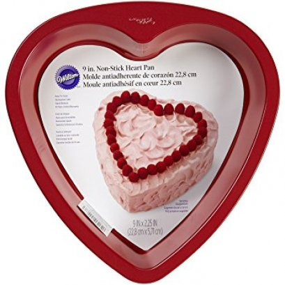 2105-5467 Wilton RE 9IN HEART CAKE PAN