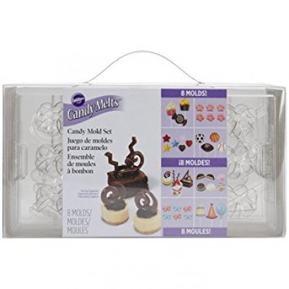 2115-0030 Wilton CANDY MOLD PARTY PACK 8CT
