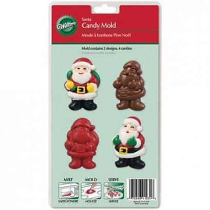 2115-1031 Wilton SANTA CANDY MOLD