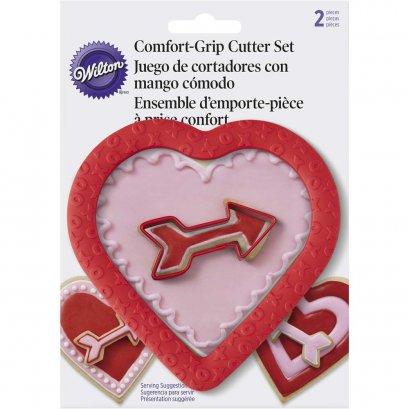2310-7081 Wilton CG SET HEART W ARW 2 PC