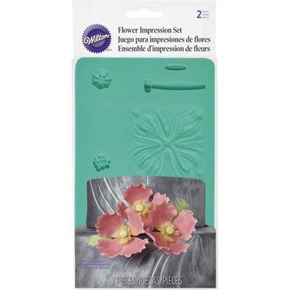 409-2530 FLOWER IMPRESSION SET
