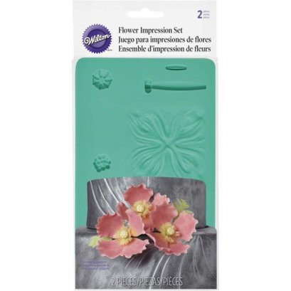 409-2530 FLOWER IMPRESSION SET