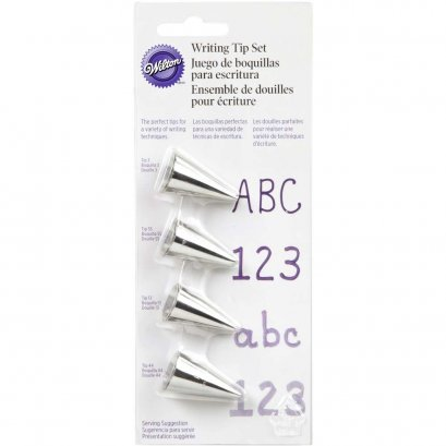 418-4566 Wilton 4 PC WRITING TIP SET