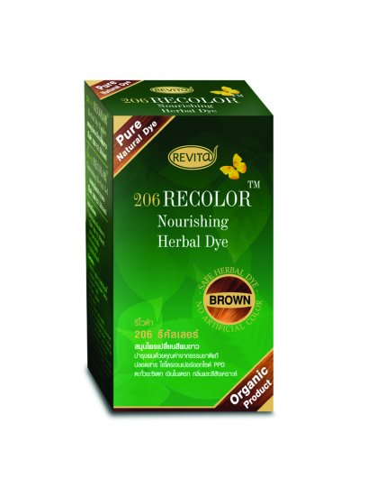 Revita RECOLOR Nourishing Herbal Coat (Brown)