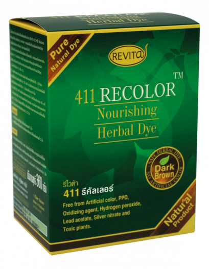 Revita RECOLOR Nourishing Herbal Coat (dark brown)