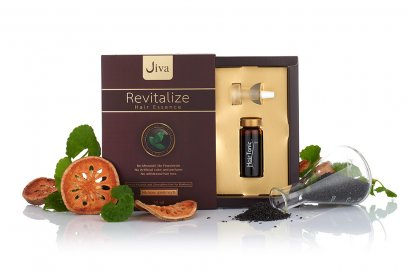 JIVA Revitalize Hair Essence จีวา รีไวต้าไลซ์ แฮร์ เอสเซ็นซ์ สูตรเพิ่มการดูดซึม และความเข้มข้น