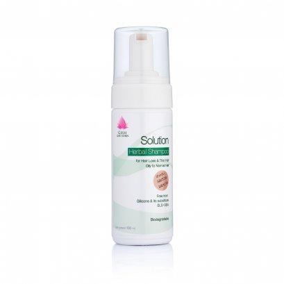 GeshGaeSorn Solution Herbal Shampo - แชมพูสมุนไพร เกศเกสร โซลูชั่น