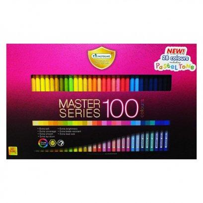 สีไม้ 100 สี Master Series