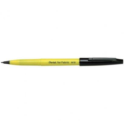 ปากกาเขียนผ้า Pentel M10 ดำ