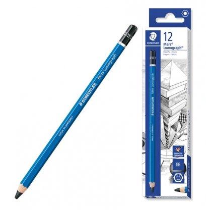 ดินสอ EE staedtler สเตดเล่อร์ Lumograph 12 แท่ง