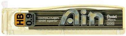 ไส้ดินสอ 0.9 เพนเทล AIN (36 ไส้)
