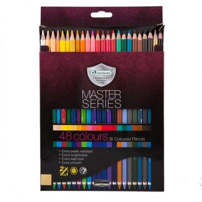 สีไม้ 24 แท่ง 48 สี Master Series