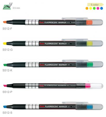 ปากกาเน้นคำเพนเทล S512